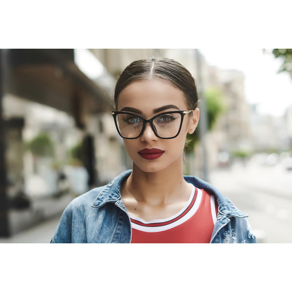Rame Ochelari Vintage Big Cat Eye