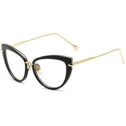 Rame Ochelari Vintage Cat Eye Luxury Negre