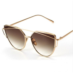 Ochelari Vintage Rose Coffee Degrade