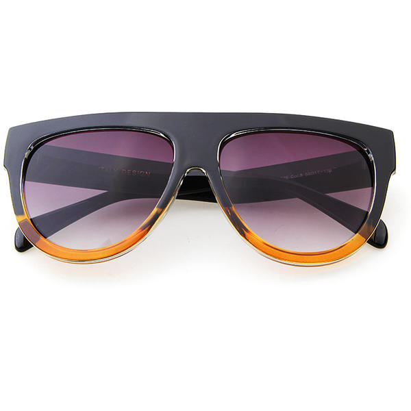 Ochelari Vintage Kardin Rotunzi Fifty Yellow