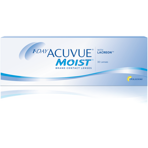 Lentile de Contact Johnson&Johnson Acuvue 1-Day Moist 30 buc.