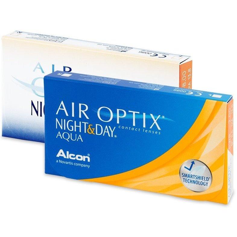 lentile de contact air optix night & day aqua lunare 3 buc