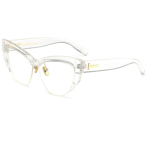 Rame Ochelari Vintage Cat Eye Urban Transparenti