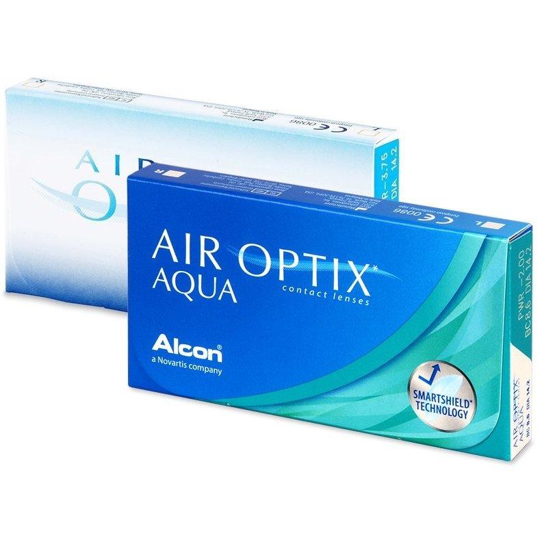 lentile de contact air optix aqua 6 buc.