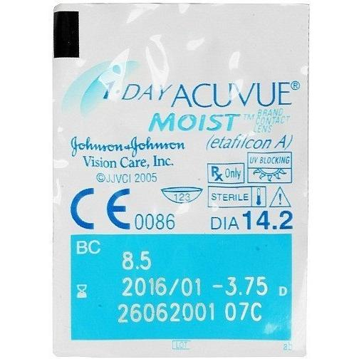 Lentile de Contact Johnson&Johnson Acuvue 1-Day Moist 90 buc.