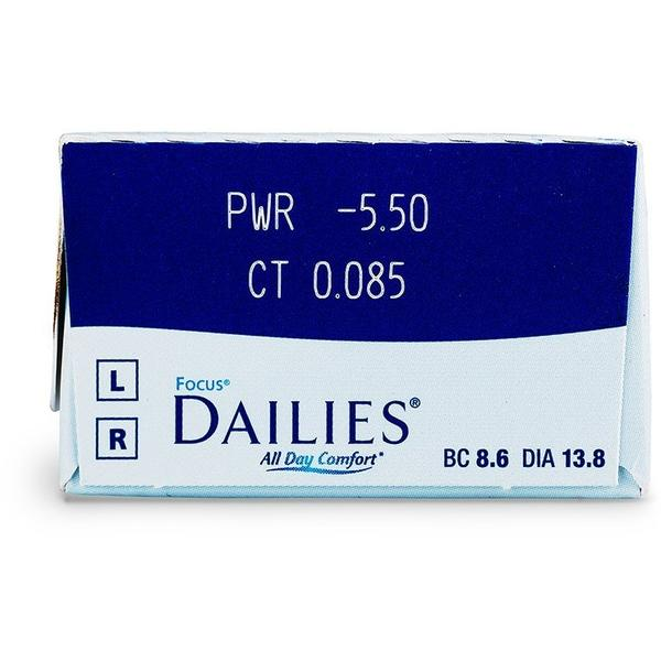 Lentile de Contact Alcon Focus Dailies All Day Comfort 30buc.