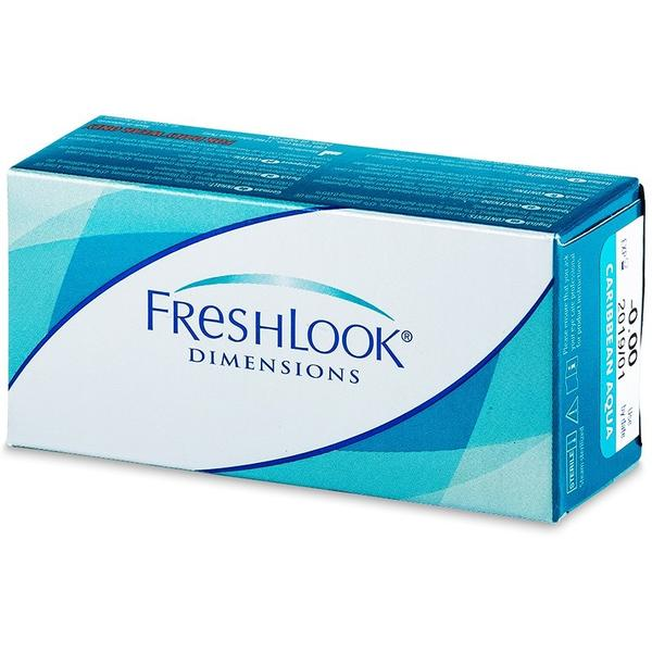 Lentile de contact colorate fara dioptrii Alcon FreshLook Dimensions Sea Green