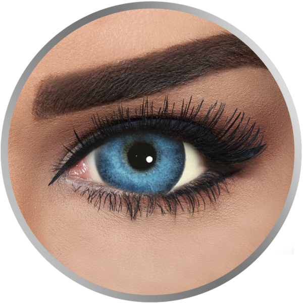 Lentile de contact colorate fara dioptrii Alcon FreshLook Dimensions Pacific Blue