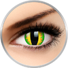 ColourVUE Crazy Green Dragon - lentile de contact colorate galbene anuale - 360 purtari (2 lentile/cutie)